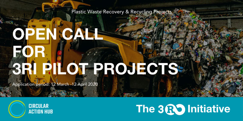 The 3R Initiative is announcing an open call for projects