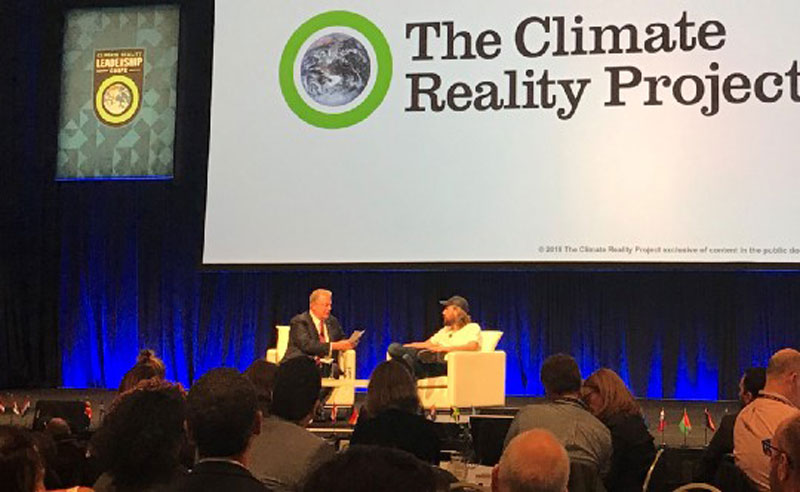 Al Gore and Mike Cannon-Brookes