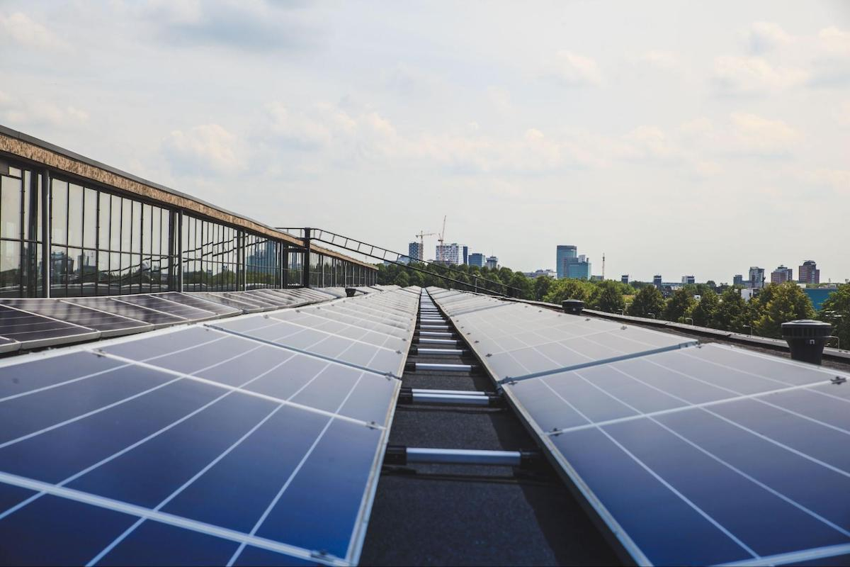 Investments in renewable energy are one of many solutions to reduce corporate carbon footprints.