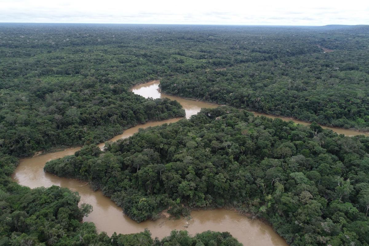 Image: Image: Snaking through the impermeable undergrowth of the Amazon rivers become like natural highways for getting between villages