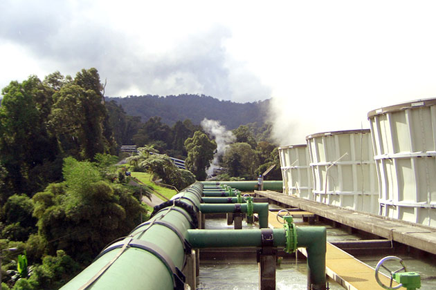 image: Gunung Salak Renewable Geothermal for Sustainable Development - South Pole Project