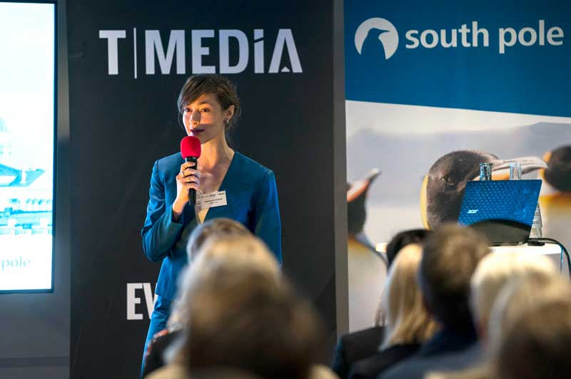 The event - moderated by South Pole's Head of Communications Nadia Kähkönen