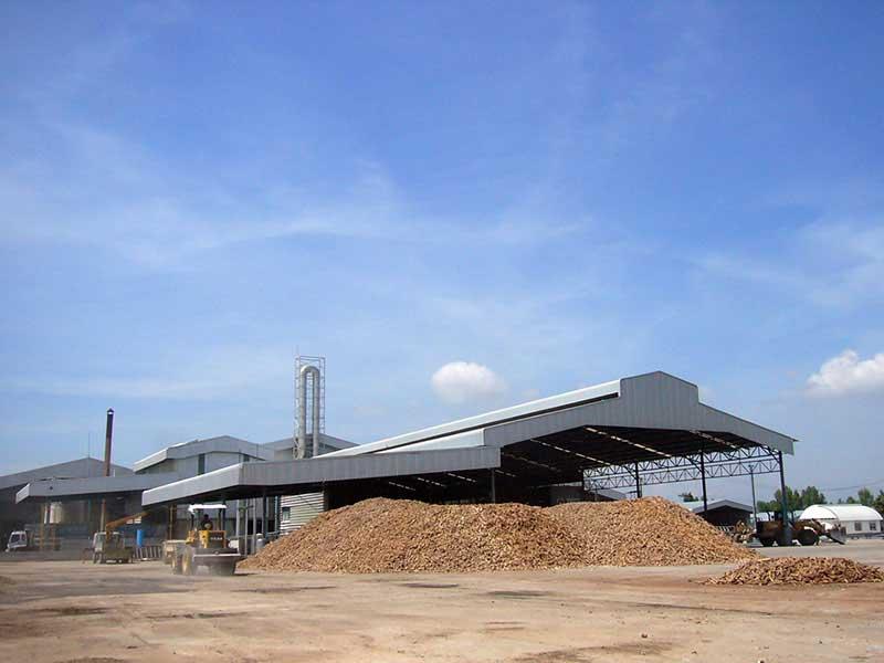 Nakhon biogas wastewater treatment, Thailand