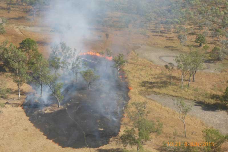 Pormpuraaw Incend Burn sport June 2015