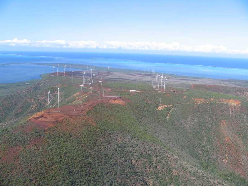 Prony Wind Farm, New Caledonia