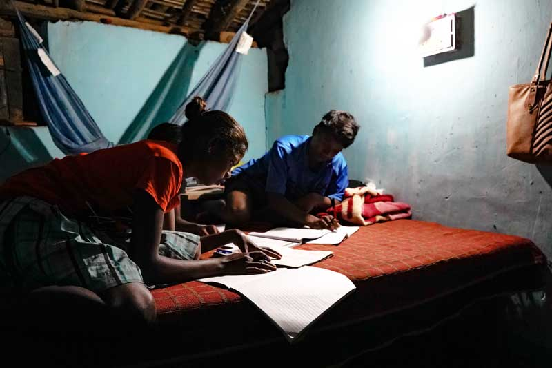 bring light to off-grid communities in India