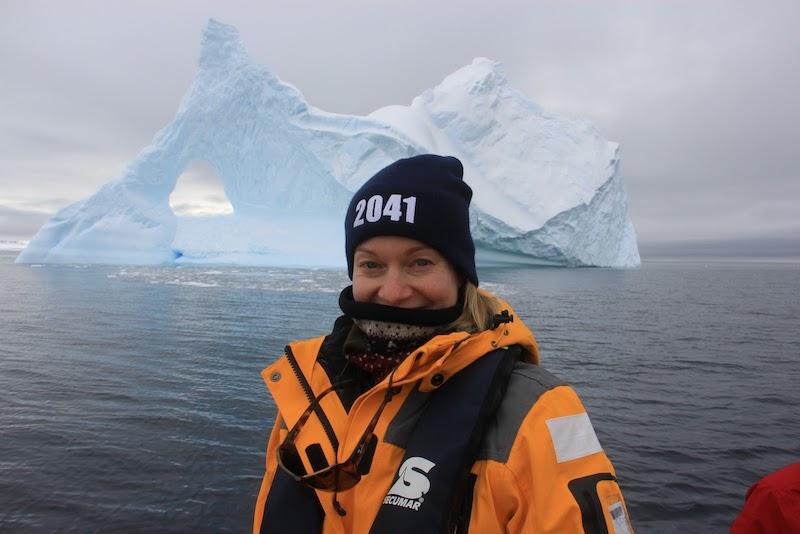 Annie first iceberg
