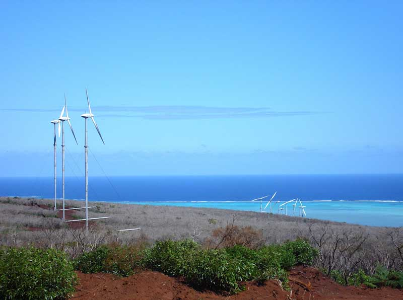 Prony Wind Power project in New Caledonia.