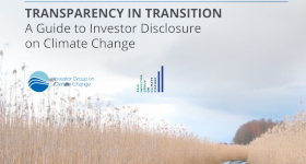 Transparency in Transition report guides climate-smart investors