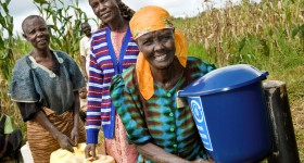 Funding chlorine dispensers for community  water supply through carbon finance