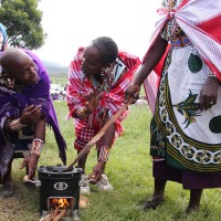 Cookstove project Maasai community