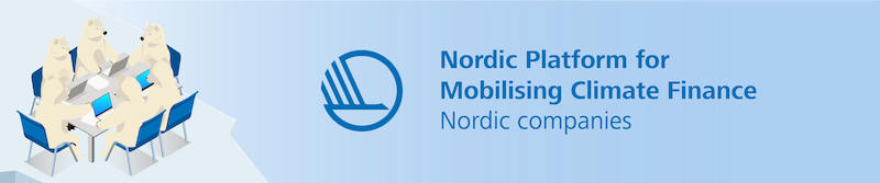 Webinar Series - Nordic Platform for Mobilising Climate Finance: Nordic Corporates
