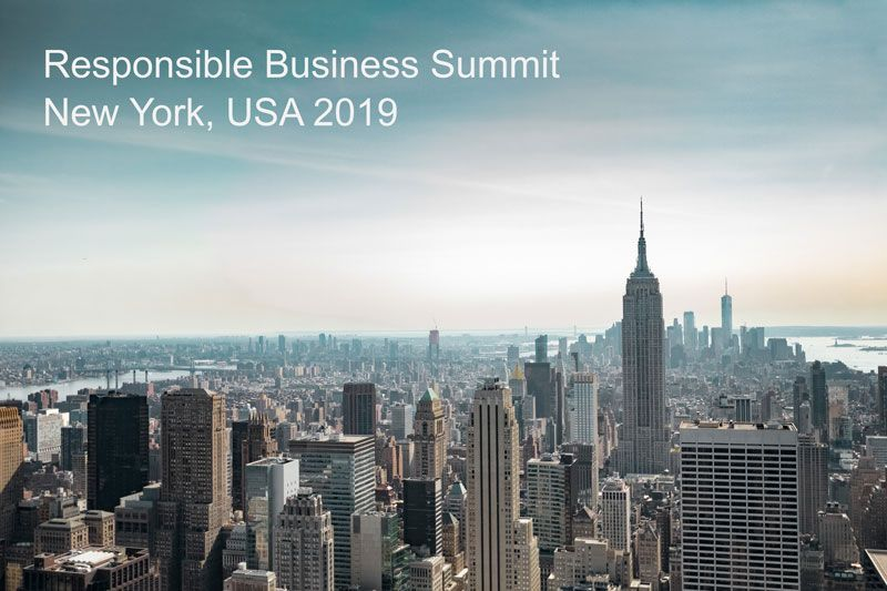 7th Responsible Business Summit New York 2019