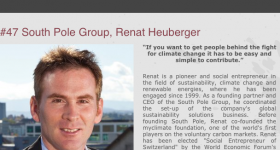 """The fight for climate change has to be made easy"" : Renat Heuberger speaks with Plurrifry podcast"