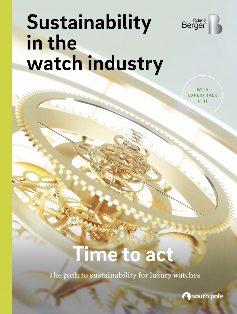 Time to act: The path to sustainability for luxury watches