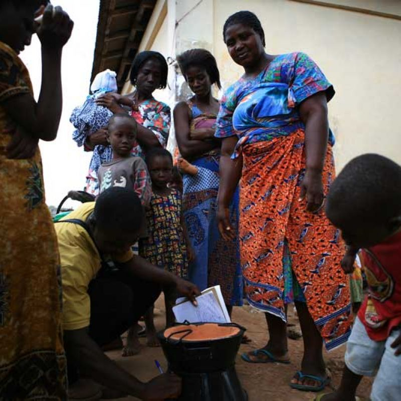 The Toyola Cookstove project in Ghana