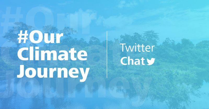 Twitter chat our climate journey